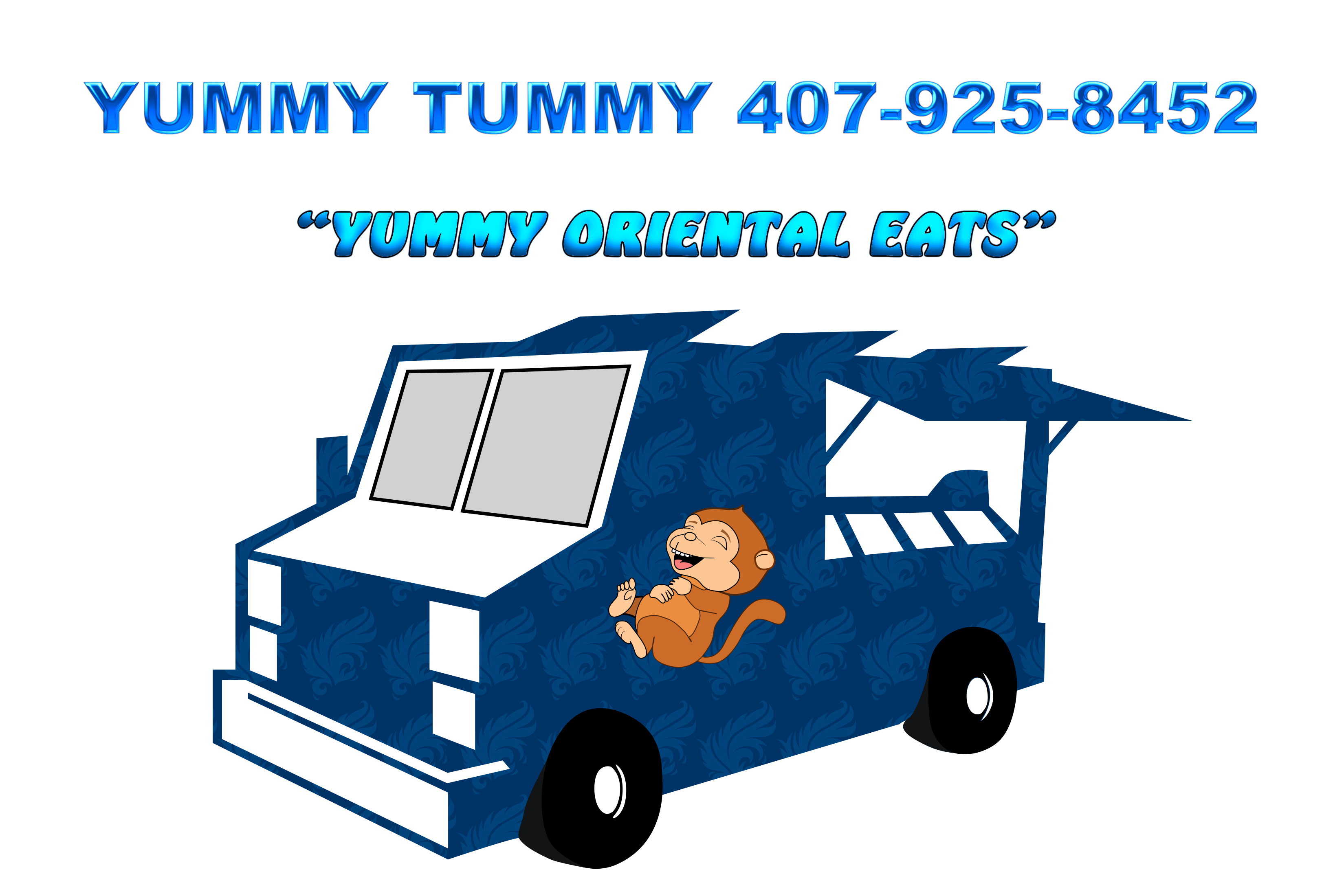 Food Truck Logo Example
