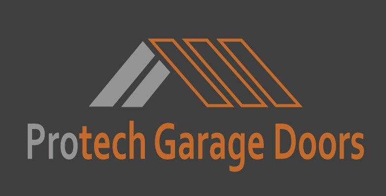 Garage Door Company Logo Example