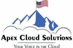 Cloud Services Company Logo Example