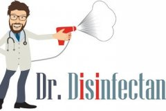 Disinfection Business Logo Example