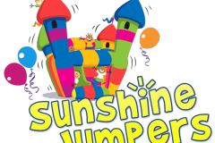 Bounce House Company Logo Example
