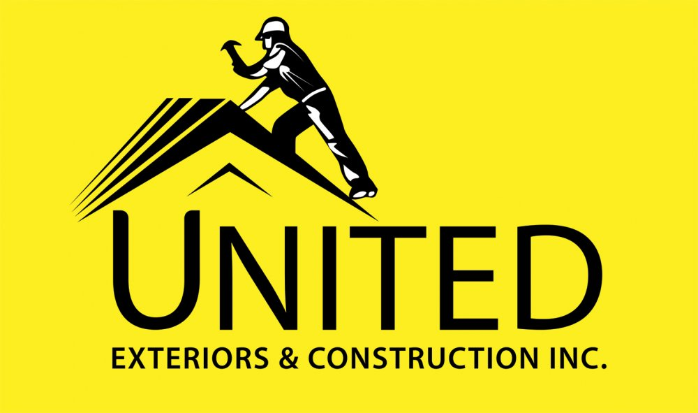 Roofing Company Logo Design Example