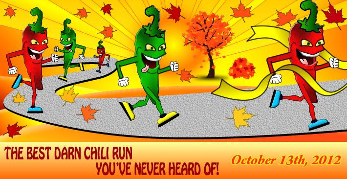 Chili Run Header Graphic