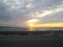 Sunset at Navarre Beach Causeway