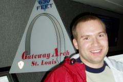 St. Louis Arch - February 24, 2007
