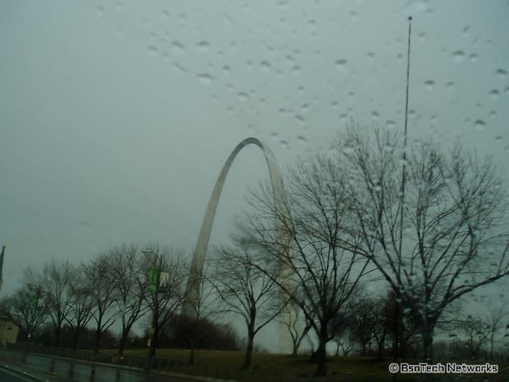 Outside the Arch