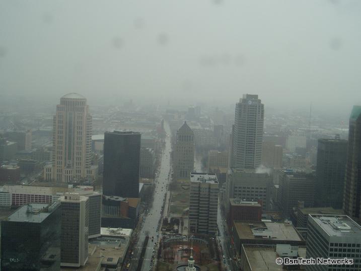 Overlooking St. Louis