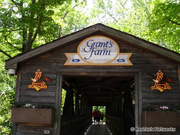 Entrance to Grant's Farm