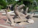St. Louis Zoo Rock Statue