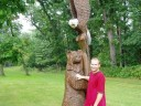 Sculpture at Starved Rock