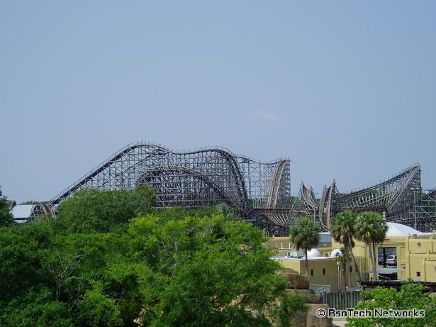Roller Coaster - Gwazi