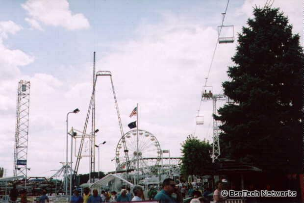 Indiana Beach Midway
