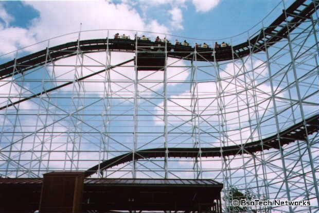 Roller Coaster - Hoosier Hurricane