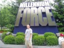 Me in front of Millennium Force