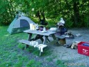 Camping at Turkey Run State Park