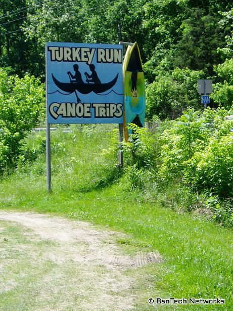Turkey Run Canoe Trips