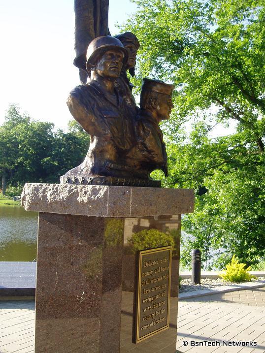 Veteran Memorial Statue
