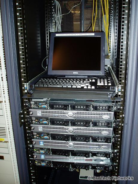 Servers in the Server Room