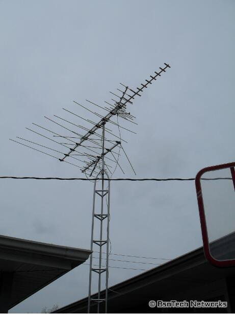 Hooking Up Two TV Antennas