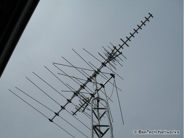 Combining Two TV Antennas