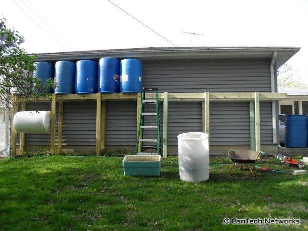 Rain Barrel Platform