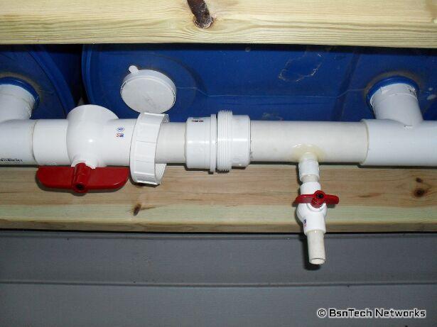 660 Gallon Rain Collection System