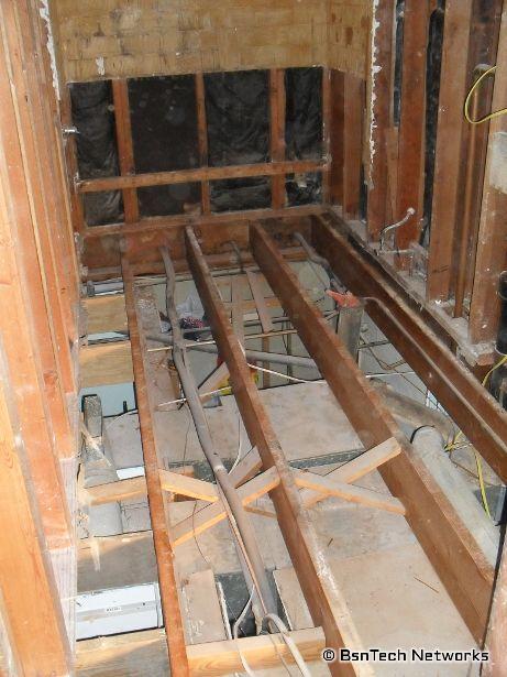 Bathroom Floor Removal