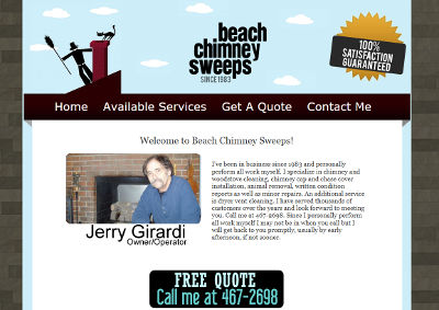 Beach Chimney Sweeps