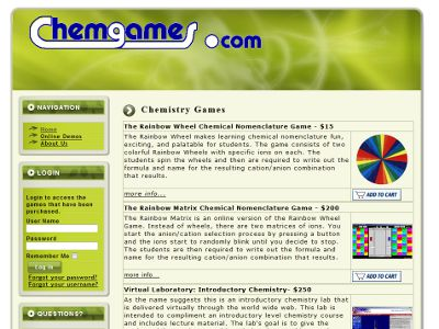 ChemGames