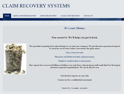Claim Recovery Systems