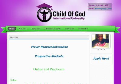 Child of God University
