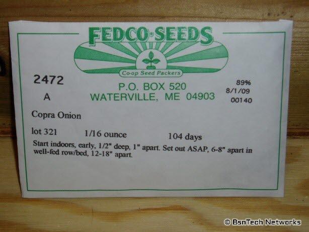 Copra Onion Packet