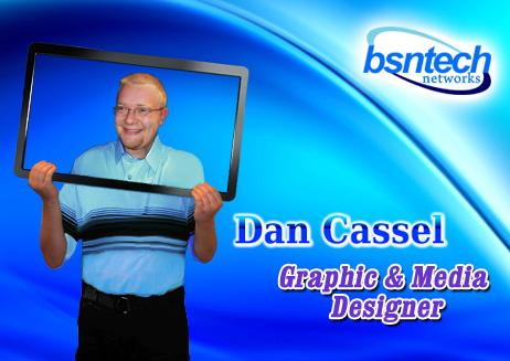 Dan Cassel – Graphic & Web Designer