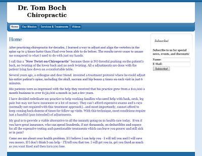 Dr. Tom Boch