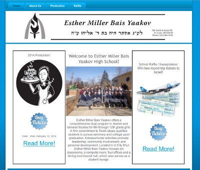 Esther Miller Bais Yaakov Website