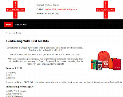 First Aid Fundraising