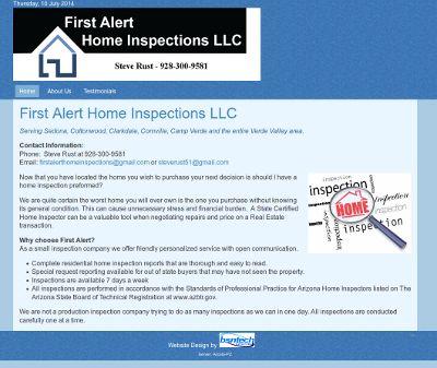 First Alert Home Inspections