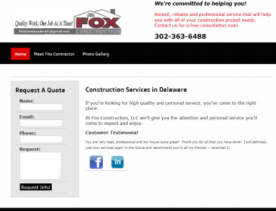 Fox Construction, LLC