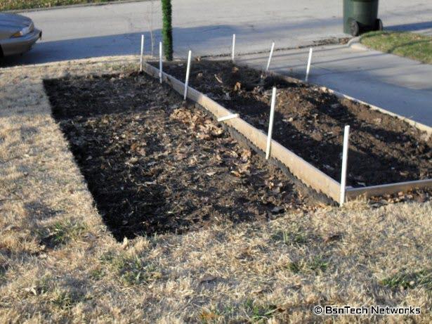 Front Garden Work