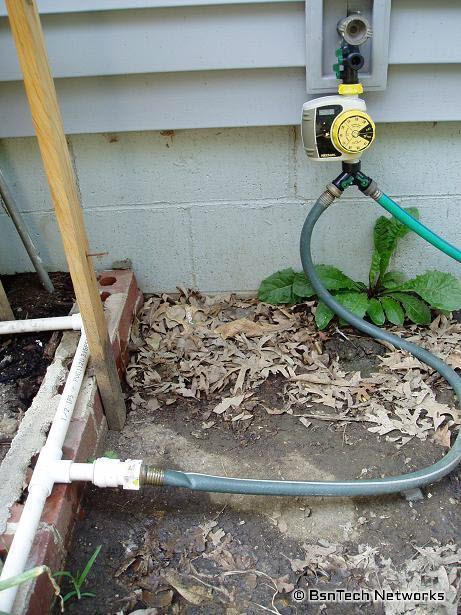PVC Irrigation System Garden Update BsnTech Networks