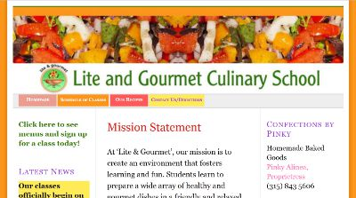 Lite and Gourmet Culinary School