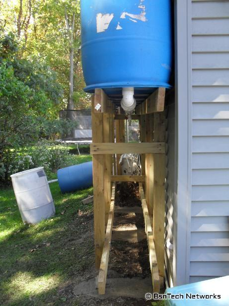 Rain Barrel System Repair