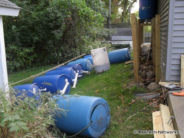 Rain Barrel Repair