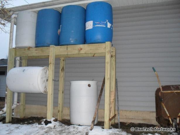 220 Gallon Rain Catchment System
