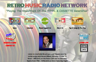 Website Design for Retro Music Radio Network - BsnTech Networks
