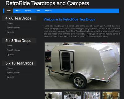 Retro Ride Teardrops