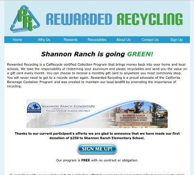 Rewarded Recycling