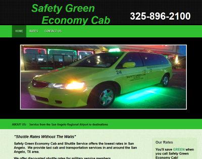 Safety Green Economy Cab