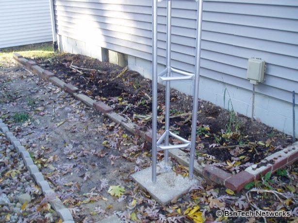 Side Garden & TV Antenna