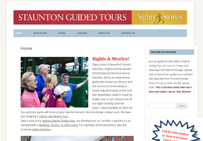 Staunton Guided Tours
